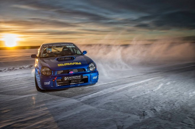 Ice Driving Events and Driver Training